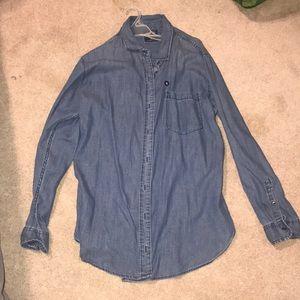 Never worn jean flannel
